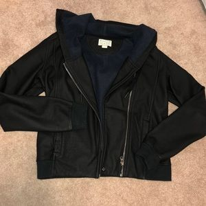 BRAND NEW CONVERSE LEATHER JACKET!!!!